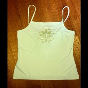 NWOT Atmosphere Lime Green Tank Top